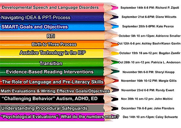 Fall Training Classes